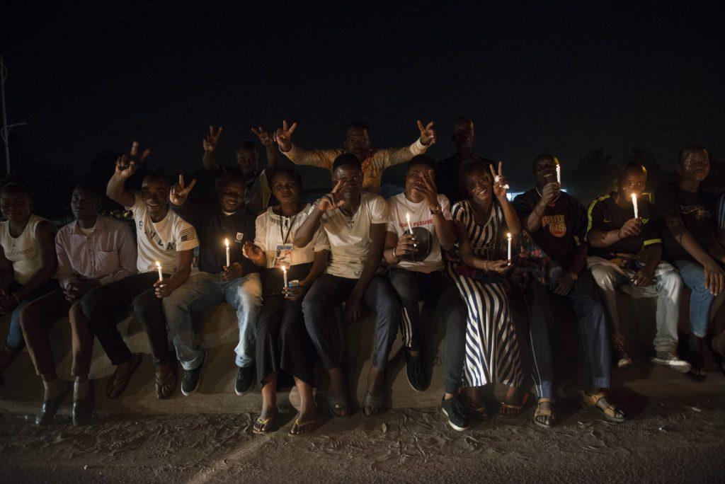 Dans les rues de Kinshasa, la liesse populaire au retour de la dépouille mortuaire d'Etienne Tshisekedi, le 30 mai 2019.
