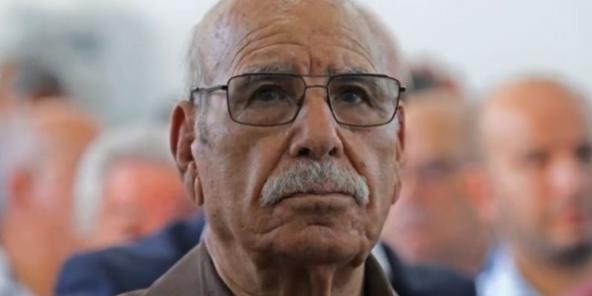 Le moudjahid Lakhdar Bouregâa.