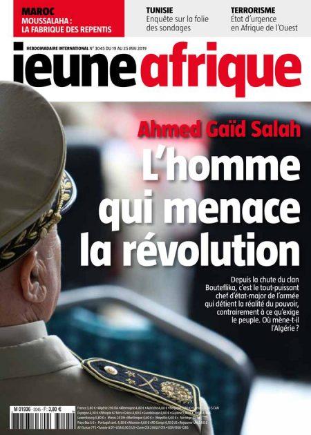 Le numéro de JA incriminé par les autorités algériennes.