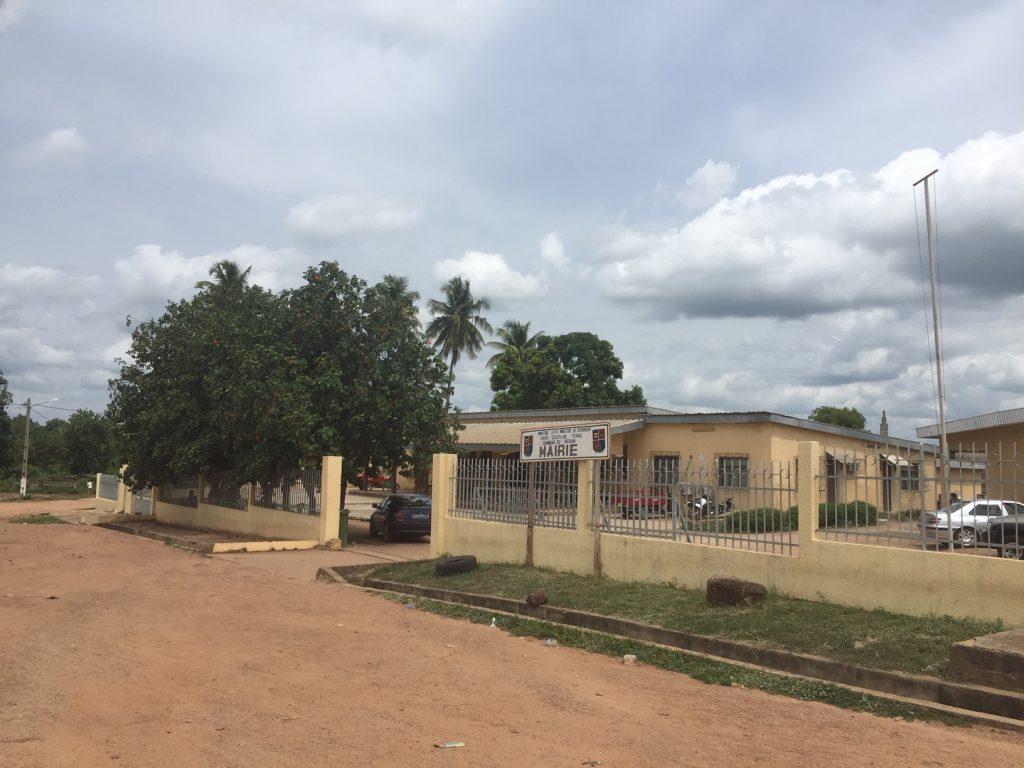 La mairie de Béoumi (60 km de Bouaké), le 1er juin 2019.