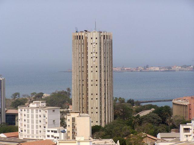 Immeuble BCEAO à Dakar.