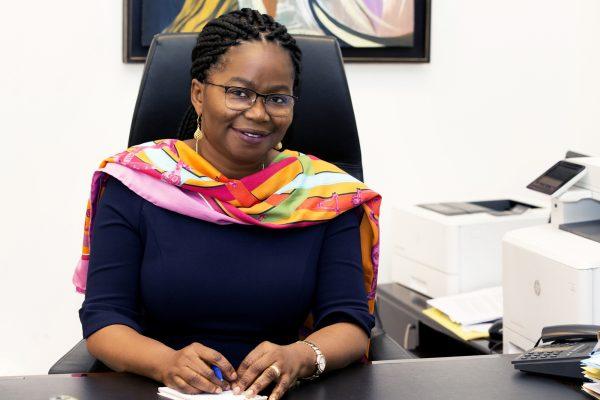 Victoire Tomegah-Dogbe (Togo) Ministre, Directrice de Cabinet du Président de la République.