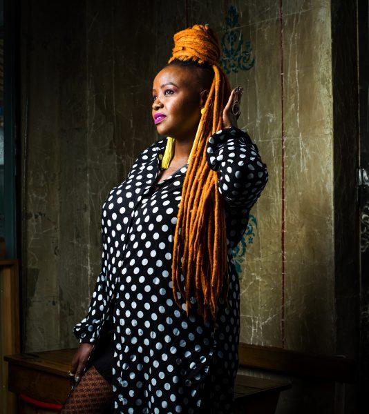 Muthoni Drummer Queen à Paris, en mai2019.