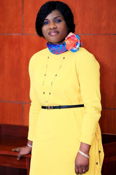Sandra Ablamba Johnson (Togo), ministre déléguée, coordonnatrice nationale de la cellule climat des affaires au sein du cabinet présidentiel. Lomé, le 31 mai 2019. Copyright Piment pour JA