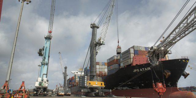 Port de Cotonou, novembre 2017.