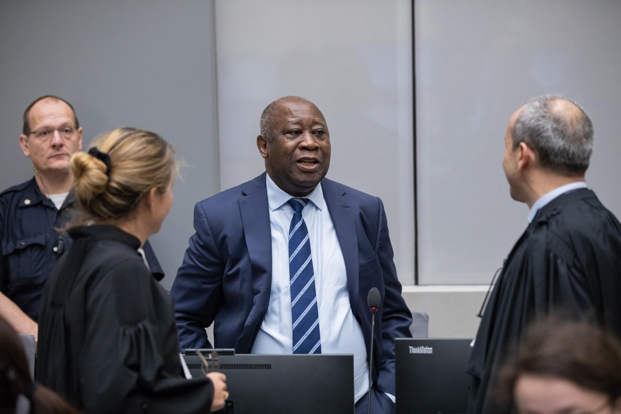Laurent Gbagbo, le 15 janvier 2019 à la CPI.