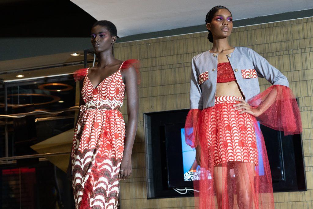 Lors de la Dakar Fashion Week 2019.
