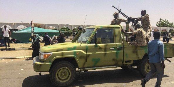 Des militaires soudanais, à Khartoum le 9 avril 2019 (illustration).