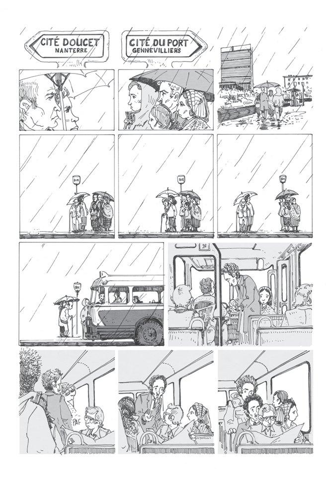 Le roman graphique « Demain, demain », de Laurent Maffre.