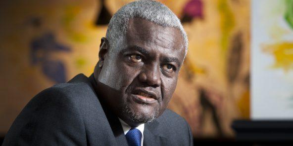 Moussa Faki Mahamat (Tchad), ancien Premier Ministre de 2003 à 2005, il est président de la Commission de l'Union africaine depuis 2017.