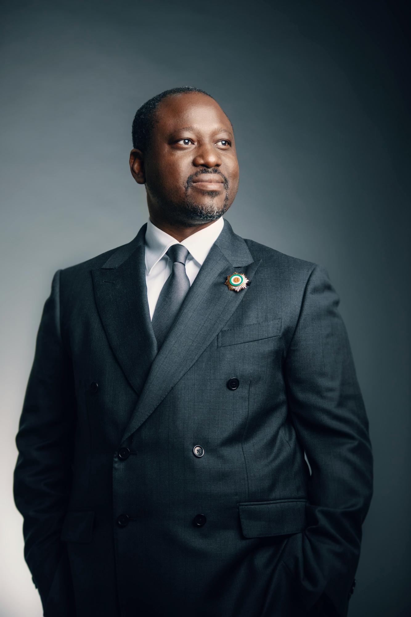 Guillaume Soro, l'ancien président de l'Assemblée nationale ivoirienne.