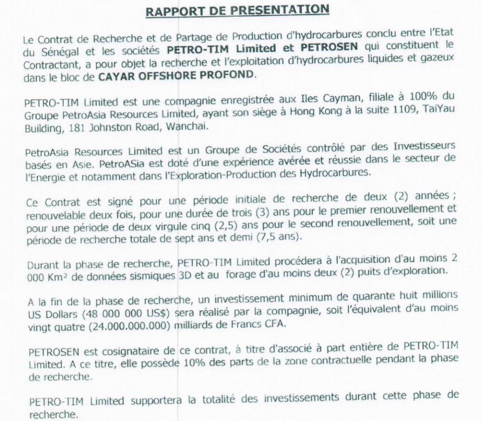 CRPP signé le 11 juin 2012 par le président Macky Sall et son Premier ministre de l'époque Abdoul Mbaye