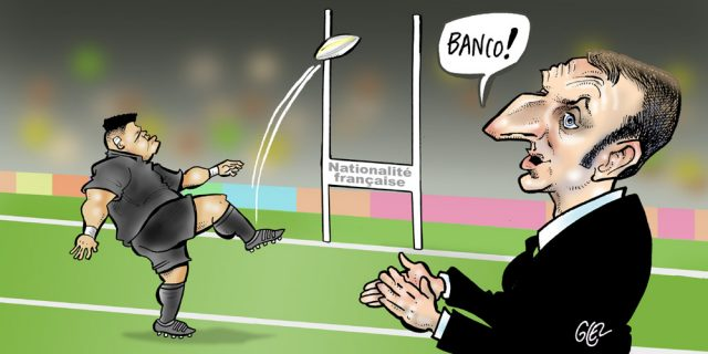 Chronique Quand Emmanuel Macron Naturalise En Direct Un Rugbyman