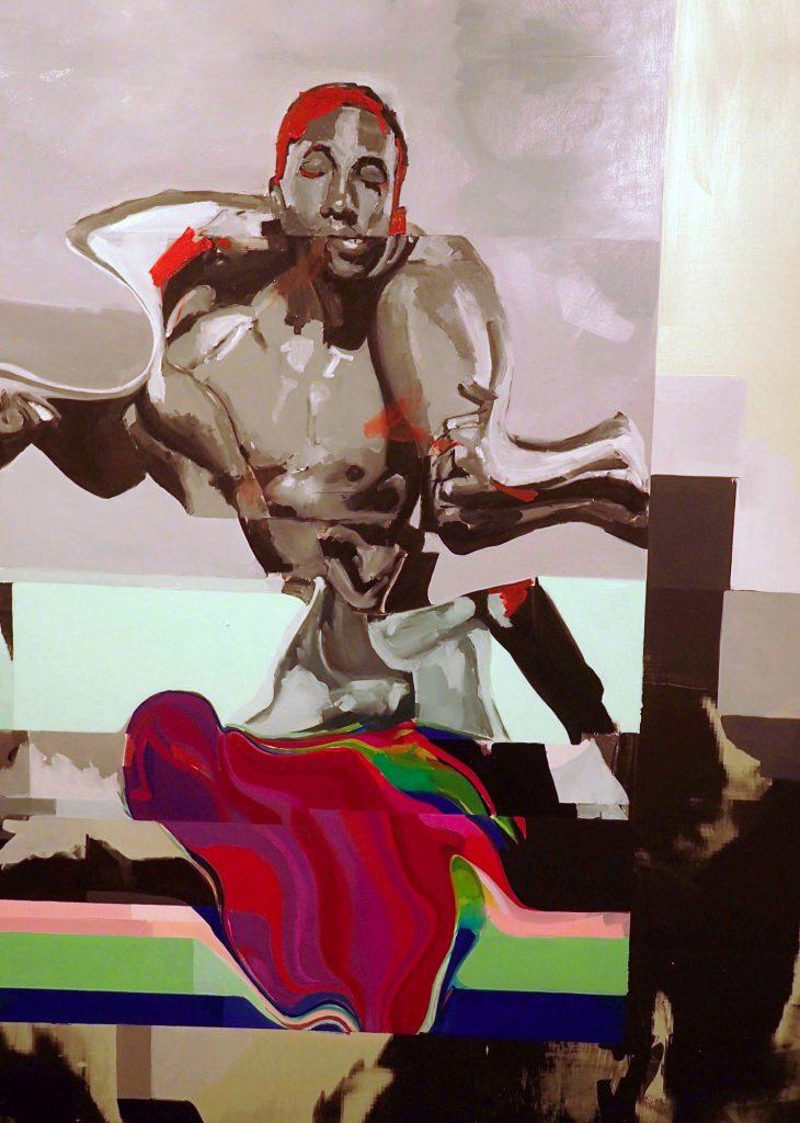 Jovian Swirl, de la Zimbabwéenne Kudzanai-Violet Hwami.