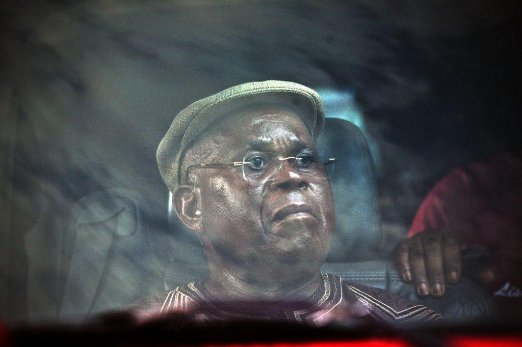 Étienne Tshisekedi, à Kinshasa, le 26/novembre 2011.