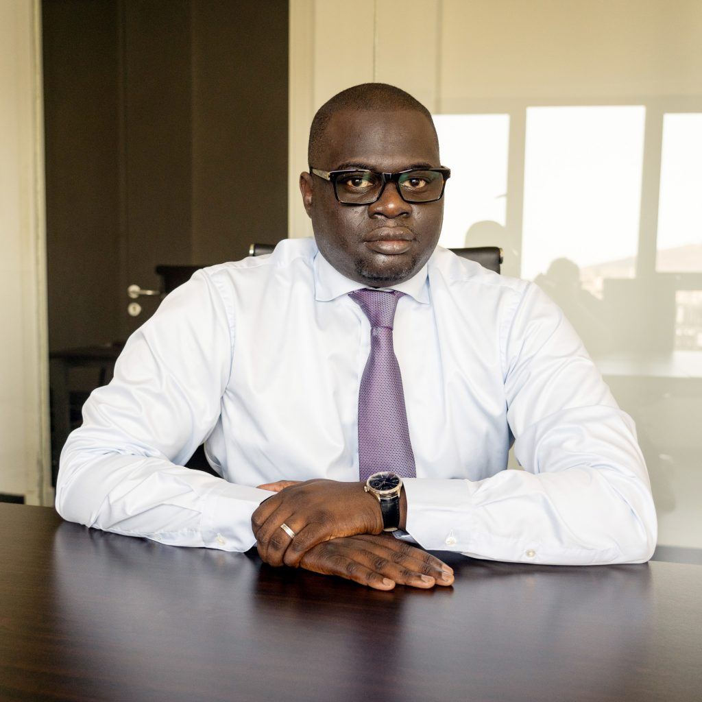 Senegal . Dakar. 06/2019. Khadim Ba, directeur general Locafrique.