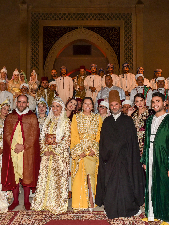 La princesse Lalla Hasnaa a présidé l'ouverture du 25e Festival de Fès des musiques sacrées du monde. ©MAP