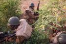 Des soldats burkinabè à Ouagadougou en septembre 2015 (image d'illustration).
