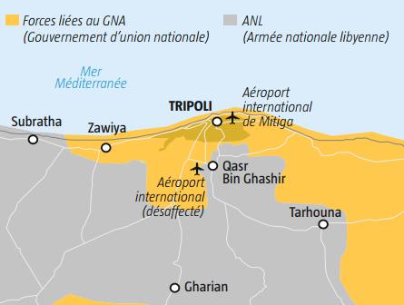 Libye : à Tripoli, les combats entre les milices de Haftar