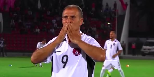 Ahmed Faras, l'un des plus grands joueurs de l'histoire du football marocain.