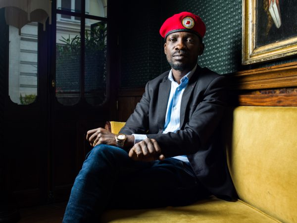 Bobi Wine, chanteur et opposant ougandais, à Paris le 11 juin 2019.