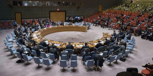 Au Conseil de sécurité de l'ONU.