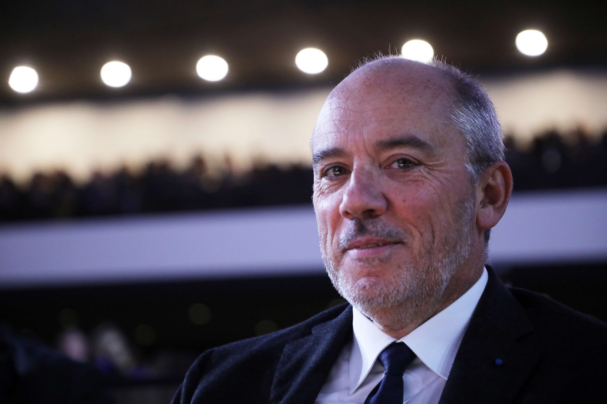 Le patron d'Orange, Stéphane Richard, à Paris, le 12 novembre 2018.