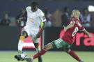 L'attaquant ivoirien Nicolas Pépé lors du match de poule contre le Maroc durant la CAN 2019, le 28 juin au Caire.