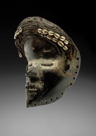 L'un des masques exposés à Bruxelles dans le cadre de IncarNations, jusqu'au 6 octobre 2019.