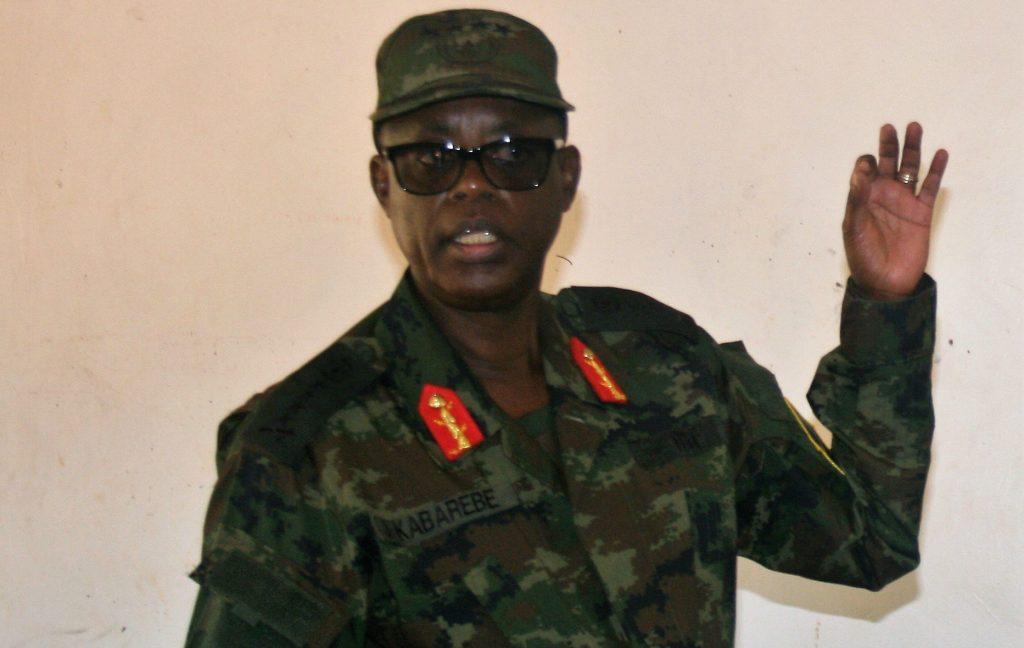 L'ancien ministre de la Défense et proche du président Paul Kagame James Kabarebe à Mulindi (district de Gicumbi, nord), le 2 juillet 2019.