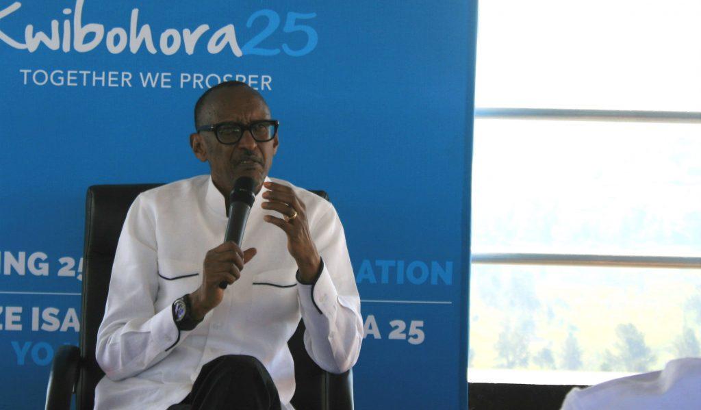 Paul Kagame à Kigali, le 2 juillet 2019.