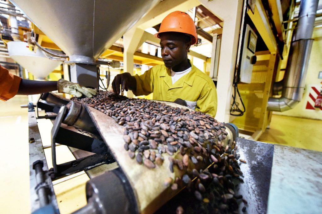 Le pays produità lui seul 45% du cacao mondial.