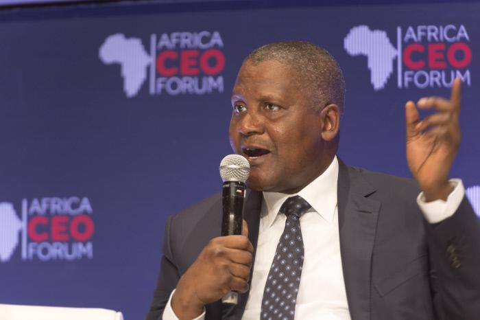 Aliko Dangote, lors du CEO Forum à Abidjan en 2016.  - lar201603219889 - Nigeria – Dangote tout-puissant : héros de toute l'Afrique et homme d'affaires impitoyable