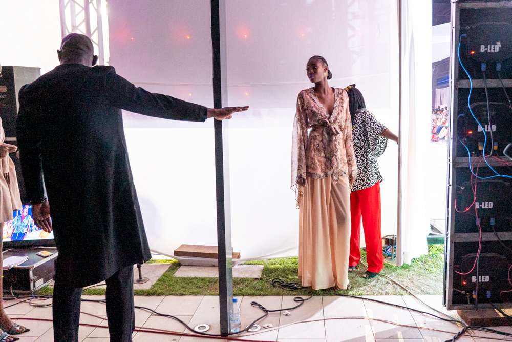 Senegal . Dakar. 06/2019. Dakar Fashion Week. Radisson Blu .