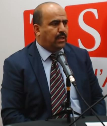 Slimane Chenine, le nouveau président de l'Assemblée populaire nationale (APN) algérienne.