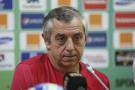 Le coach de la Tunisie, Alain Giresse, en janvier 2015 lorsqu'il entraînait le Sénégal.