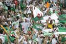 Les supporteurs algériens durant la demi finale de la CAN 2019 face au Nigeria, le 14 juillet au Caire.