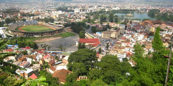 Une vue d'Antananarivo, à Madagascar (photo d'illustration).