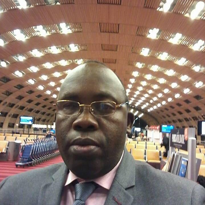 Devos Kitoko Mulenda, secrétaire général d'ECiDé.