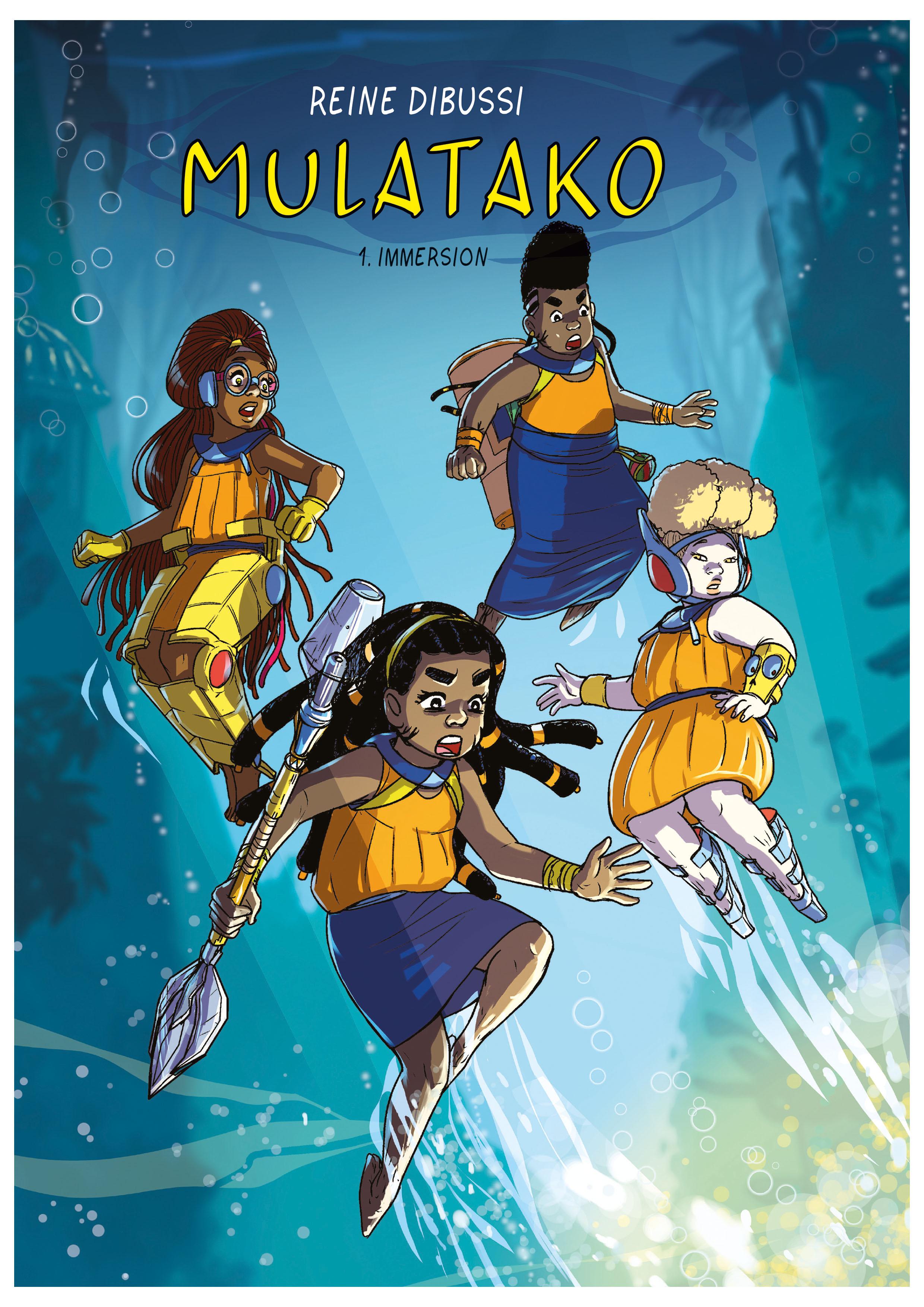 La couverture de Mulatako, de Reine Dibussi.