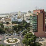Le quartier du Plateau, à Dakar.