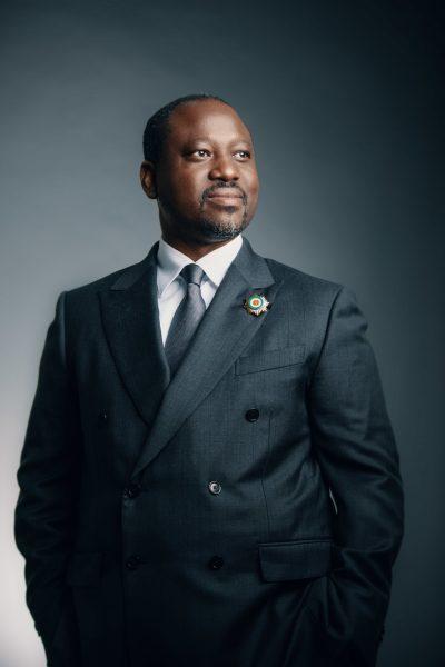 Guillaume Soro, ex-président de l'Assemblée nationale ivoirienne, à Abidjan, le 21 novembre 2018.