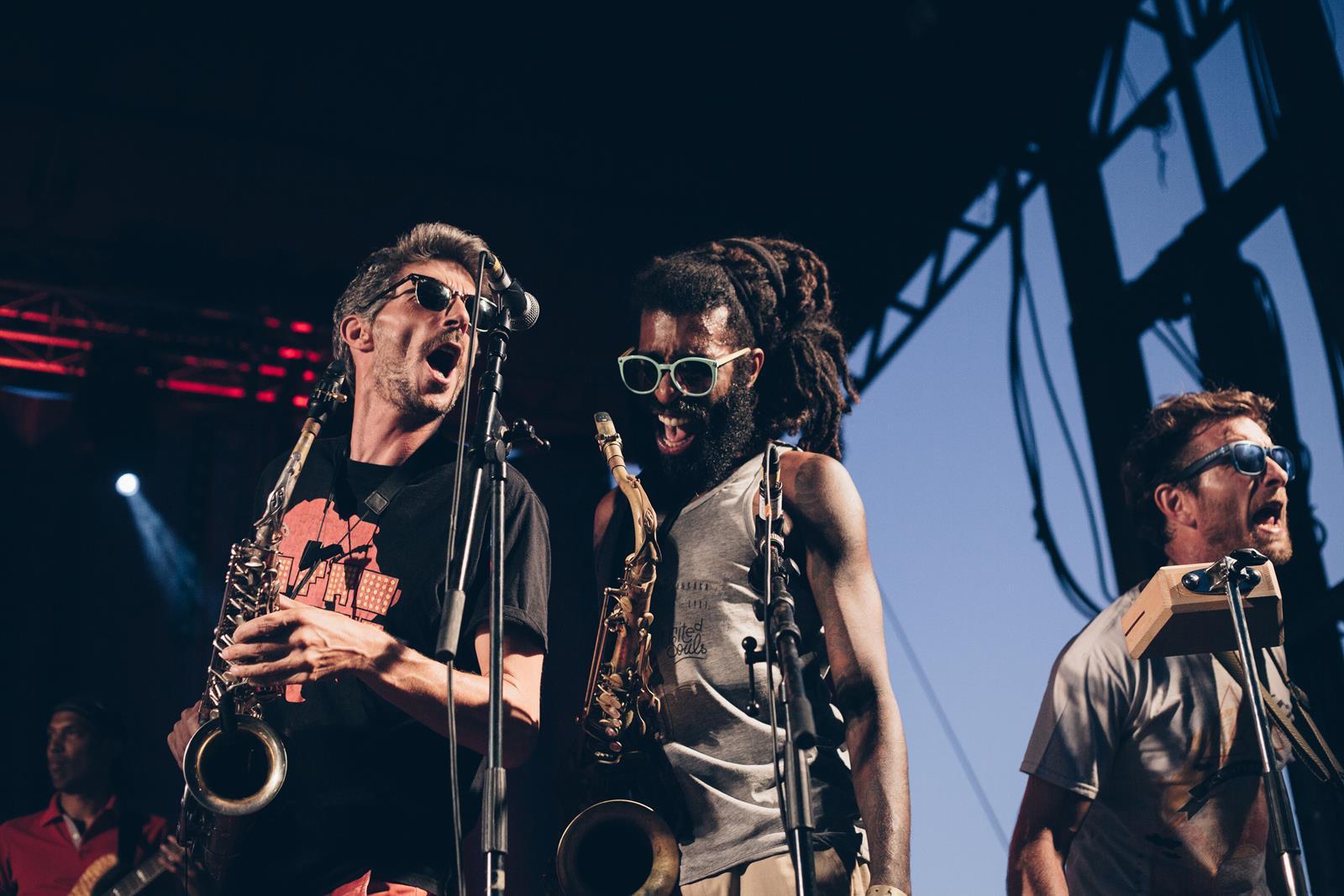 Les Frères Smith, lors de l'Africajarc 2018.