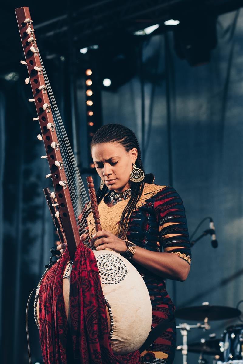 Sona Jobarteh à l'Africajarc 2018.