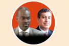 Abdoul Kader Yada, administrateur général de Cotradis et Abdelmjid Tazlaoui, PDG de Fenie Brossette