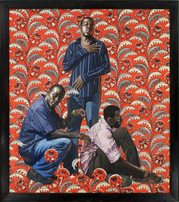 Hunger, tableau du peintre américain Kehinde Wiley, 2008.