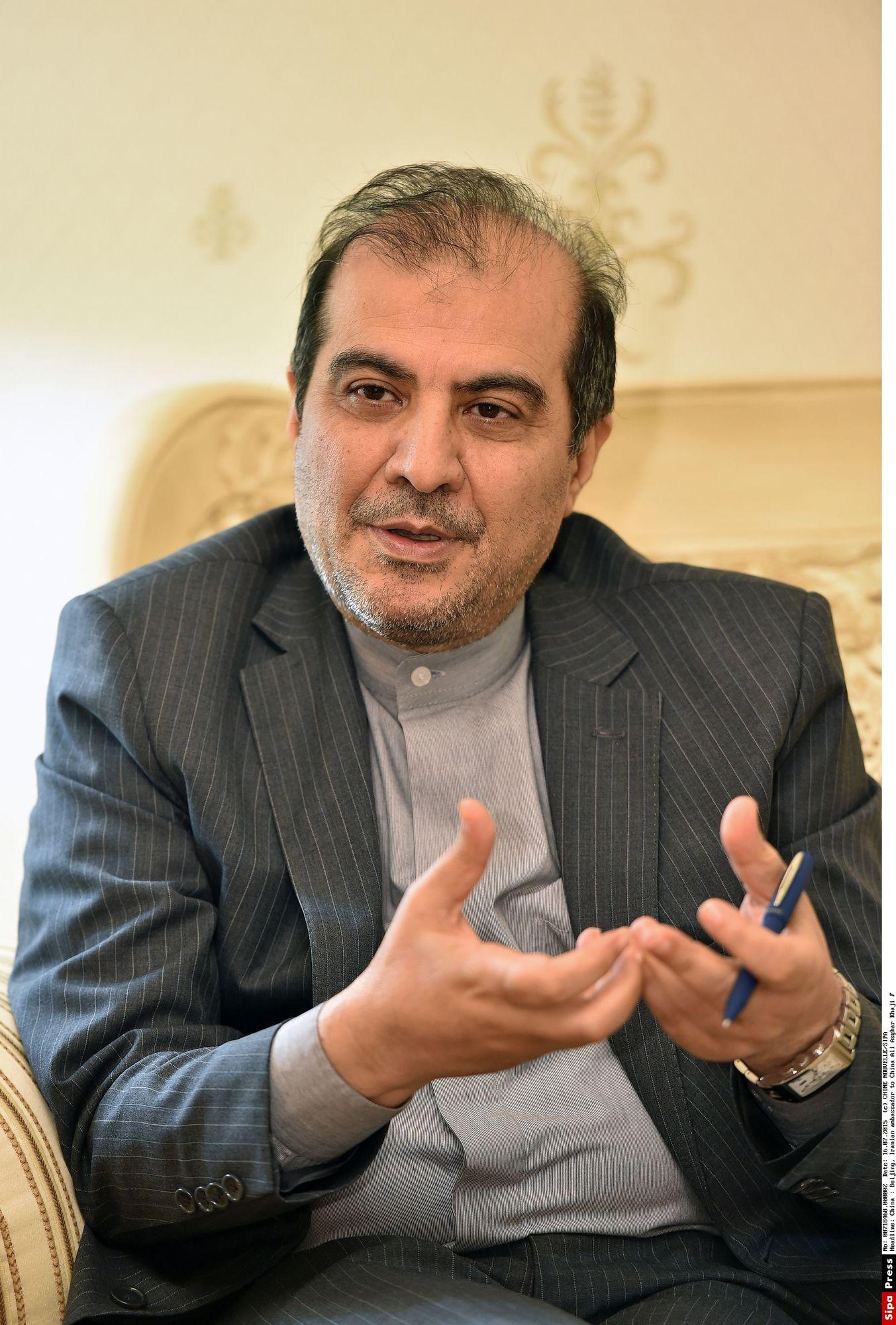 Ali Asghar Khaji, haut conseiller aux affaires politiques du ministre des Affaires étrangères iranien.