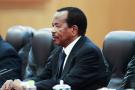 Le chef de l'État camerounais Paul Biya, à Pékin, en mars2018.