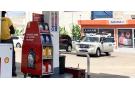 Une station pilote de Shell (Vivo Energy) à Dakar, au Sénégal, où le service de Jumia est proposé.