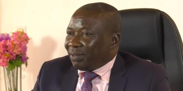 Henri Wanzet-Linguissara, ministre centrafricain de la Sécurité publique.